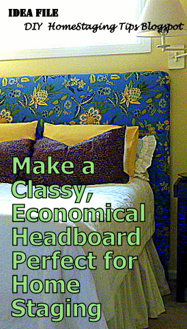 DIY Home Staging Tips: How to Make a Padded Headboard to ...