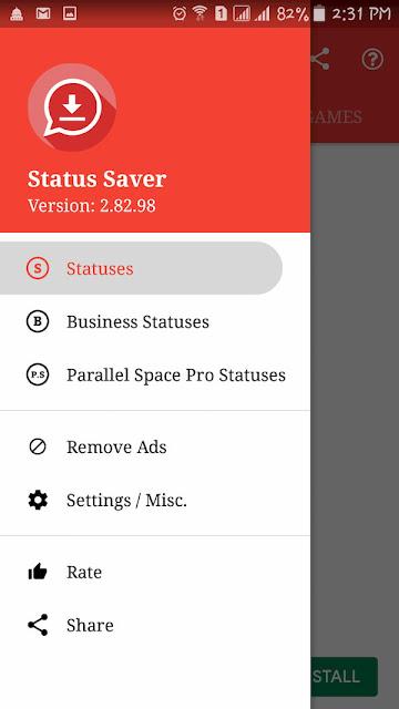 برنامج تنزيل حالات واتس | Status Saver لتحميل حالات الواتس اب
