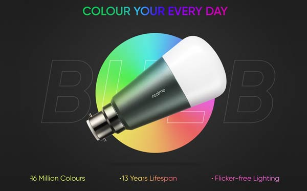 Realme LED Smart Bulb Launched in India