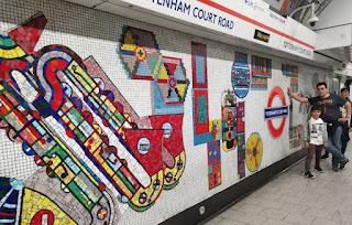 Estación de metro de Londres.