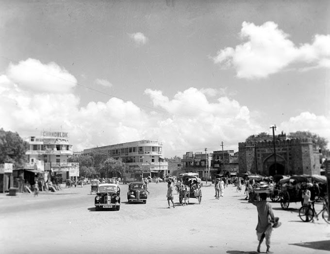 Ajmeri Gate Delhi old Photo 1950s