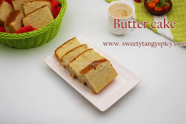Butter Cake Recipe | How To Make Butter Cake | Soft, Fluffy And Moist Butter Cake At Home