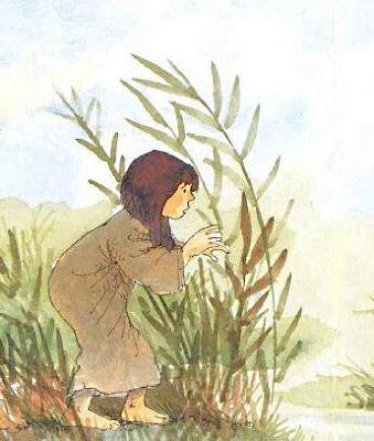Miriam controlla la navigazione della cesta
