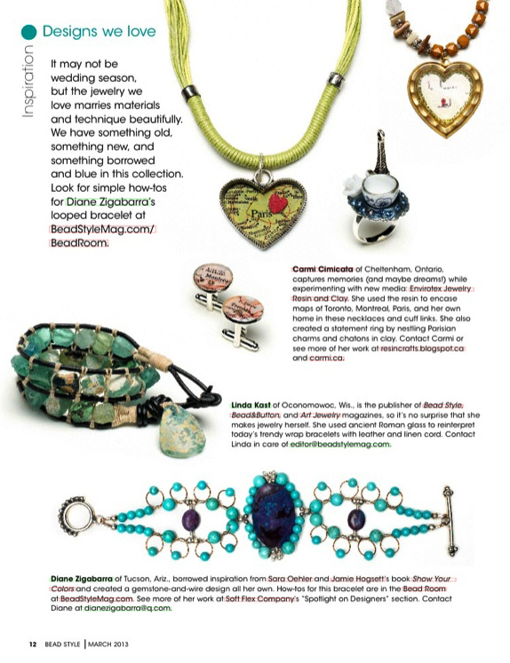 complete guide to making wire jewelry beadstyle magazine