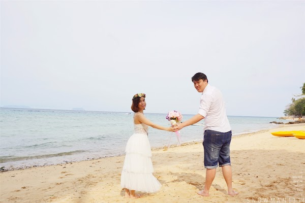DIY Pre Wedding Shoot by the Beach @ Alunan Resort, Pulau Perhentian