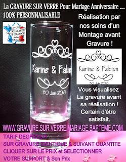 Verre Coupe Flute à Champagne Personnalisé Gravé Cadeau
