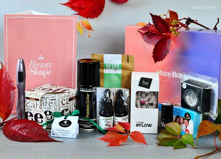 Beauty&Shape by ShinyBox - prezentacja zawartości NAJnowszego ExtraBox`a! Musisz to zobaczyć!