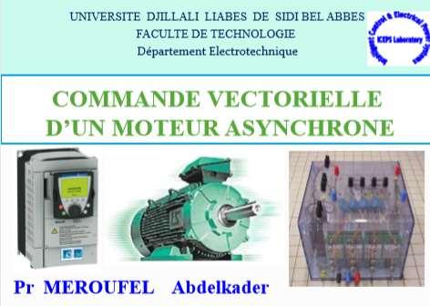 COMMANDE VECTORIELLE D'UN MOTEUR ASYNCHRONE