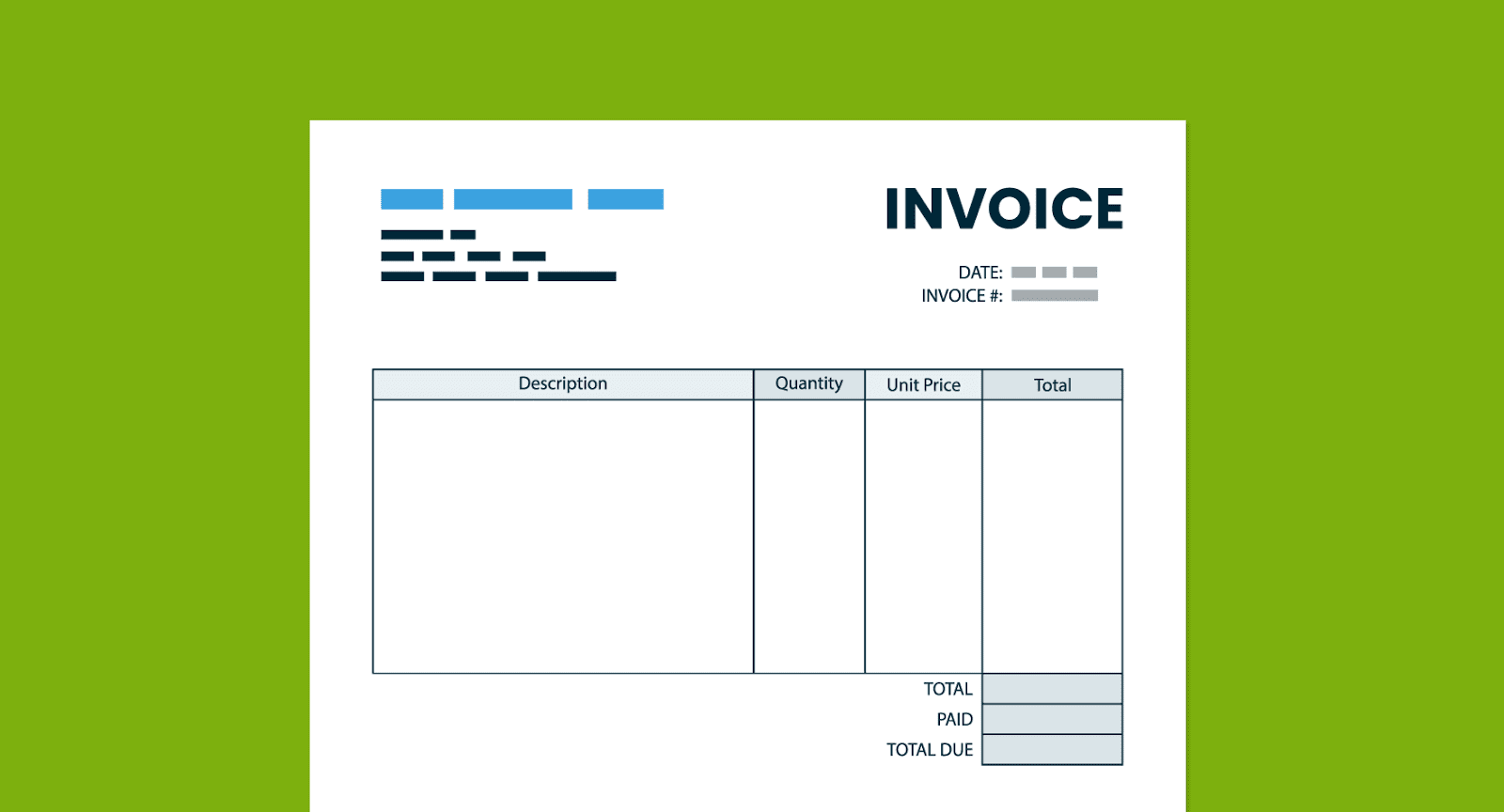 what does the word invoice mean
