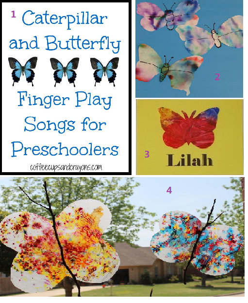 Welcome Baby: Butterfly Activities for Toddlers