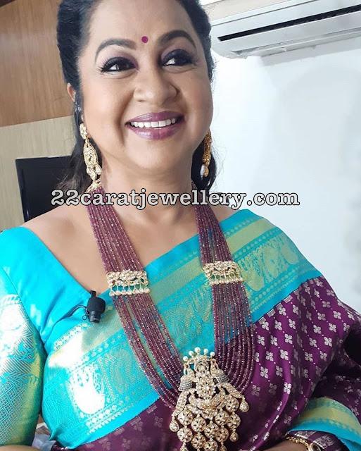 Radhika Kundan Peacock Pendant