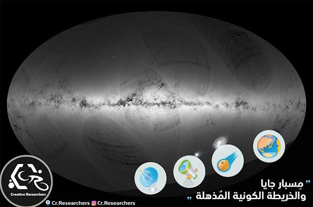 مِسبار جايا والخريطة الكونية المُذهلة