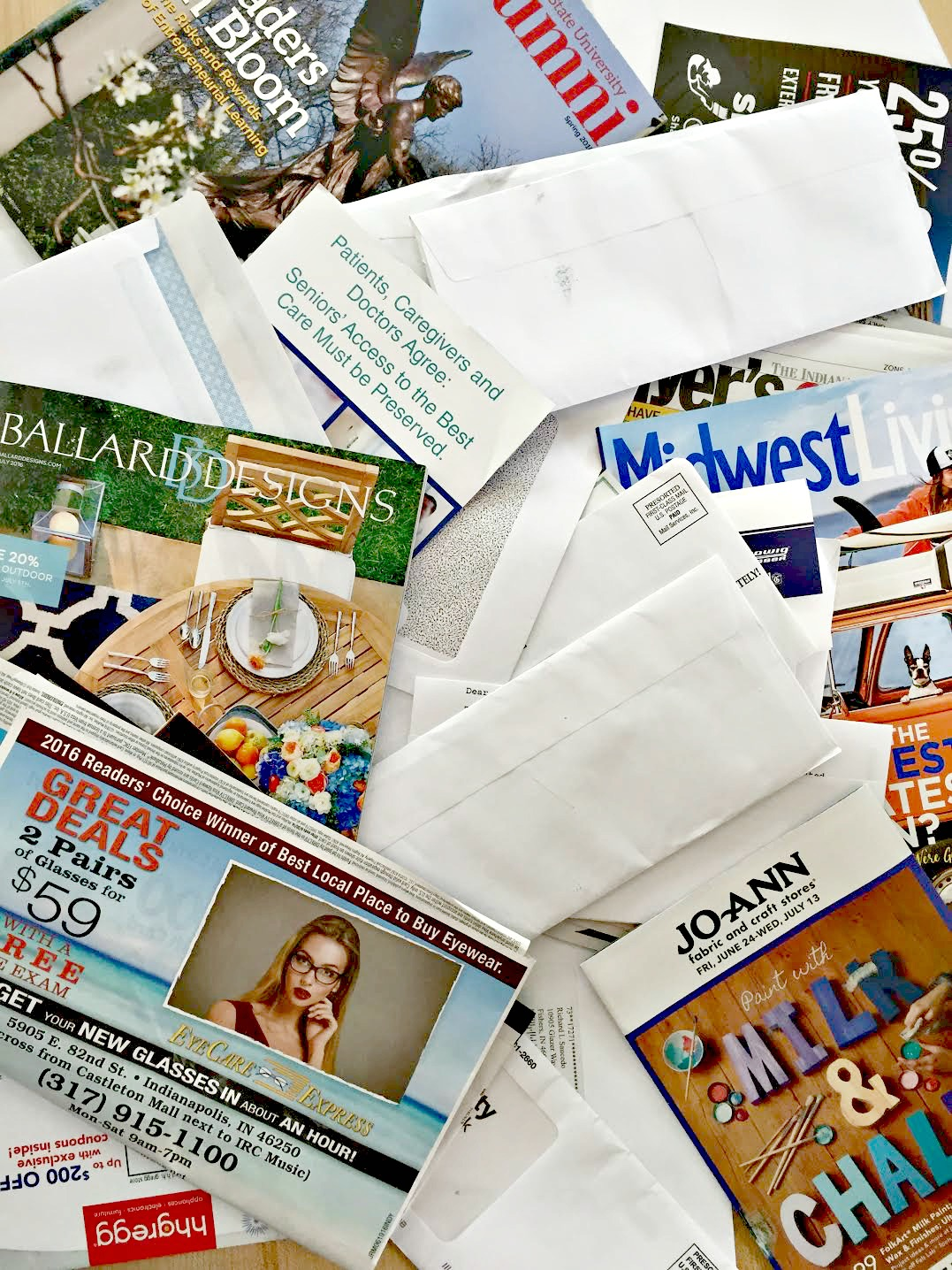 how to stop junk mail from coming in the house