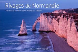 Couverture du livre Rivages de Normandie de Christophe Daguet