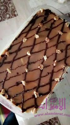 كيكه 7 ملاعق بذوق الشوكولاته