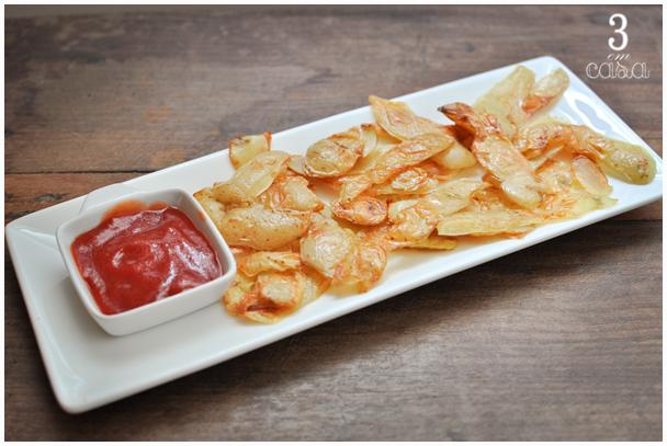 casca de batata frita