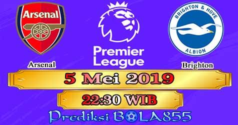 Prediksi Bola855 Arsenal vs Brighton 5 Mei 2019