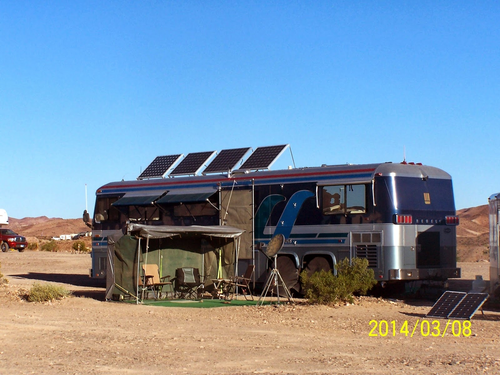 Living The Rv Dream Boondocking At The Imperial Dam Ltva