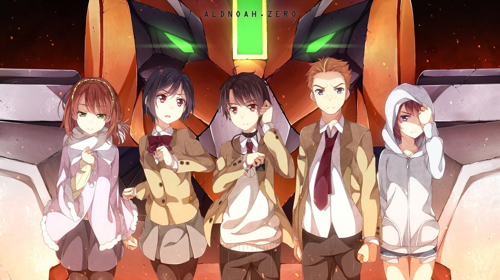 Anime Action Terbaik Aldonoah Zero