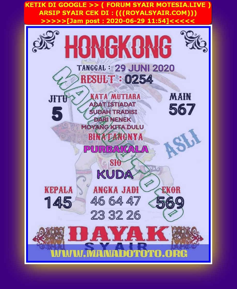 Kode syair Hongkong Senin 29 Juni 2020 99