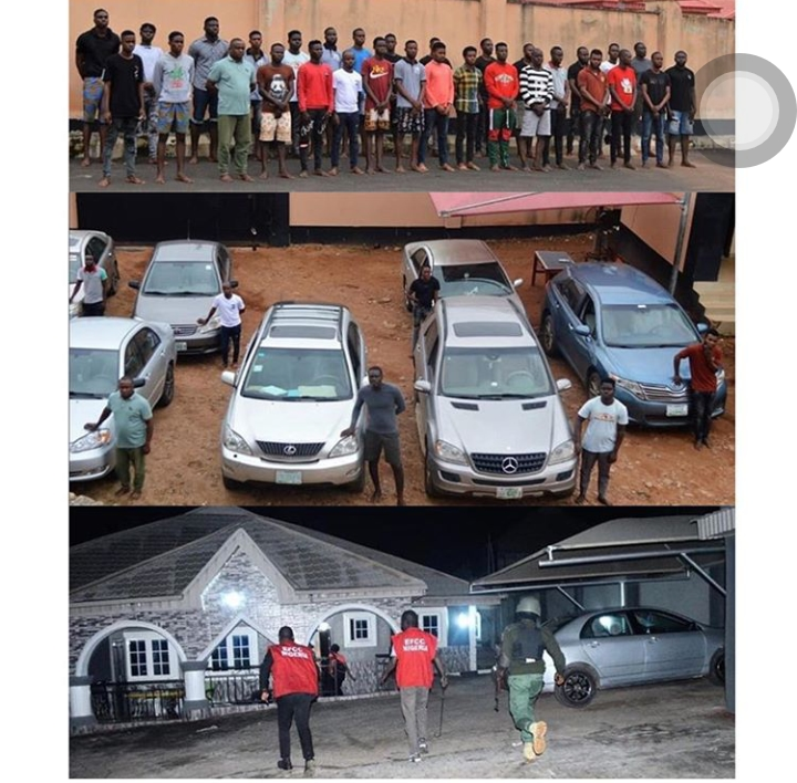 EFCC Arrested 30 Suspected Fraudsters in Ekiti State - See Items Recovered From Them