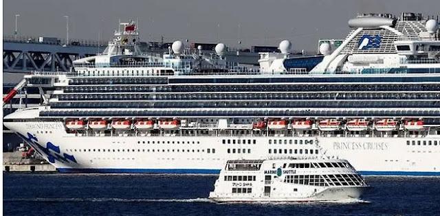 Infeksi Menyebar, Jumlah Orang Yang Positif Virus Corona Baru Di Kapal Pesiar Di Jepang Mencapai 175 Orang