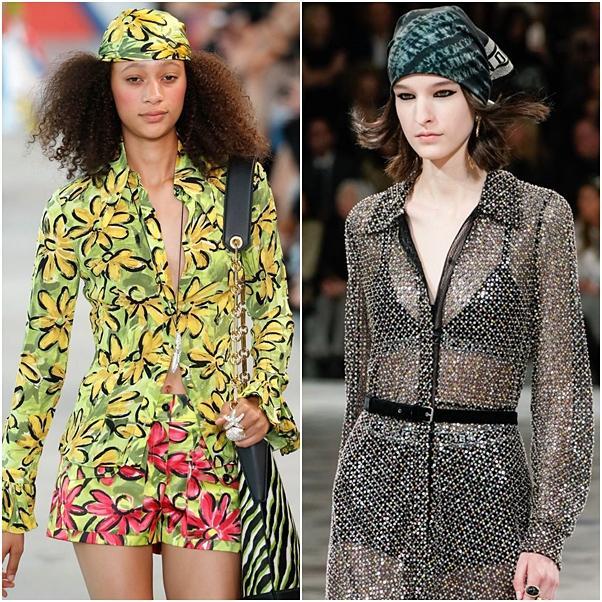Uma Linda Promessa: Como usar: Formas diferentes de lenço e bandana na  cabeça!