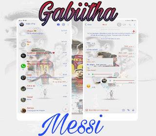 Messi Player Theme For YOWhatsApp & Fouad WhatsApp By Gabiitha