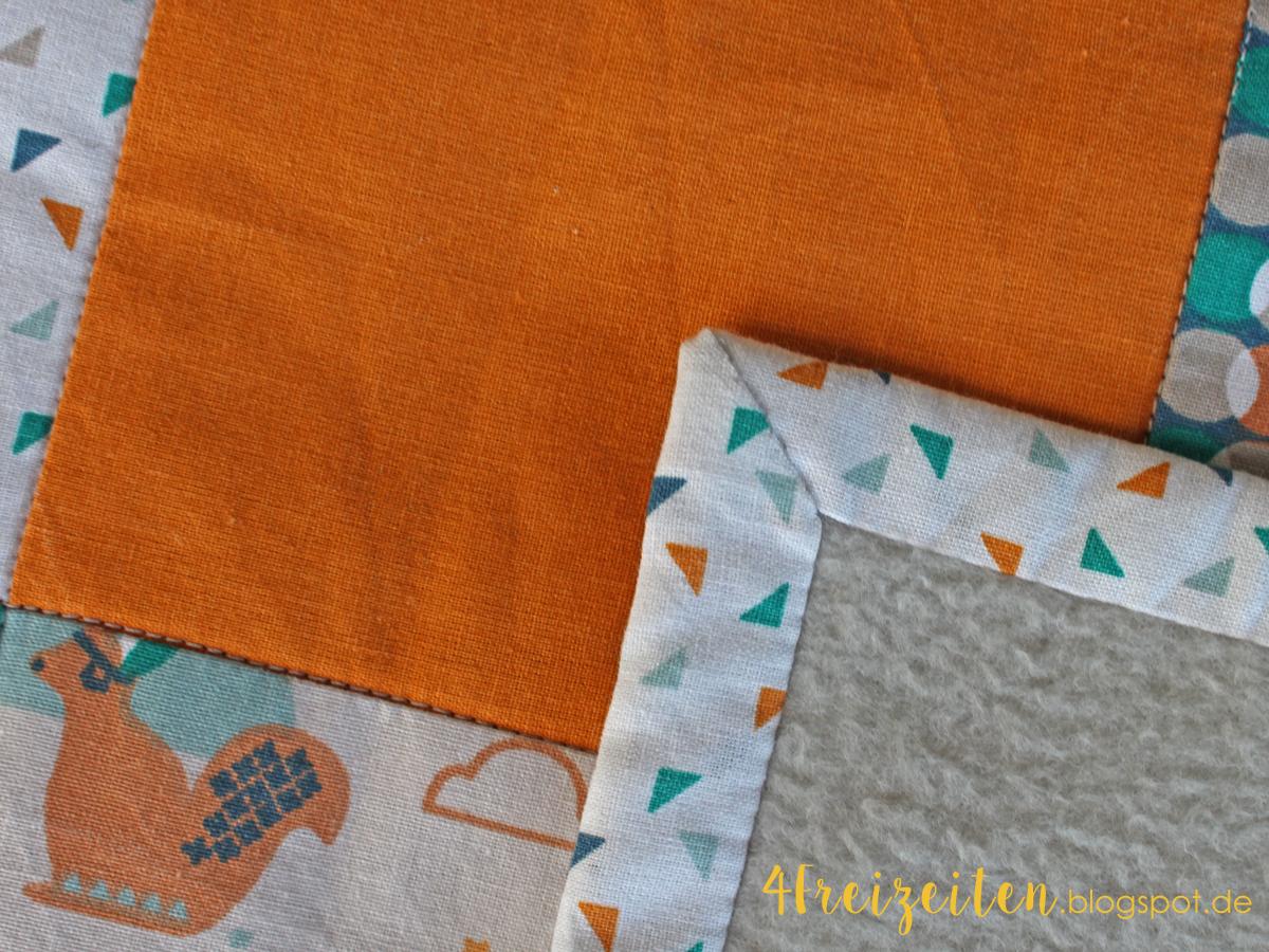 4 freizeiten mein erster quilt eine babydecke. Black Bedroom Furniture Sets. Home Design Ideas