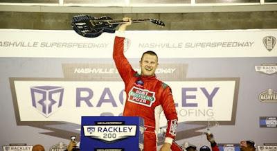 Ryan Preece Wins his NASCAR Camping World Truck Series Debut