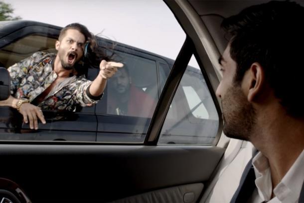 Shahid Kapoor as Rockstar Tommy 'Gabru' Singh in Abhishek chaubey's Udta Punjab