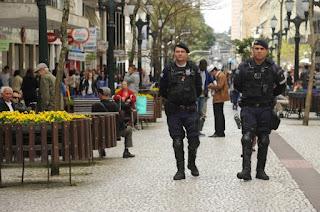 Guarda Municipal de Curitiba (PR) intensifica policiamento na região central