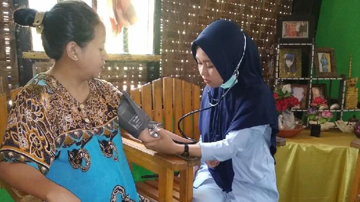 Home Care Puskesmas Kampala Intes Pantau Kesehatan Warga