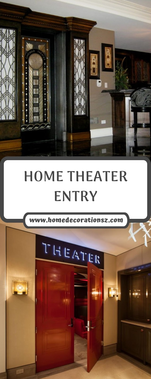 HOME THEATER ENTRY