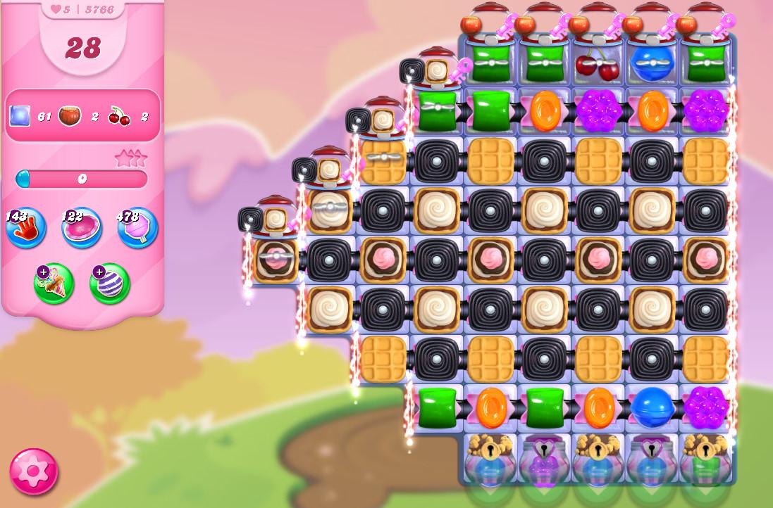 Candy Crush Saga level 5766