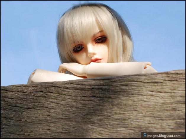 Doll Girl Sad Alone Cute