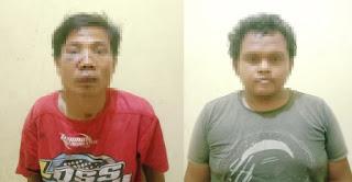 Dua Pelaku Curat Ditangkap Polsek Dente Teladas