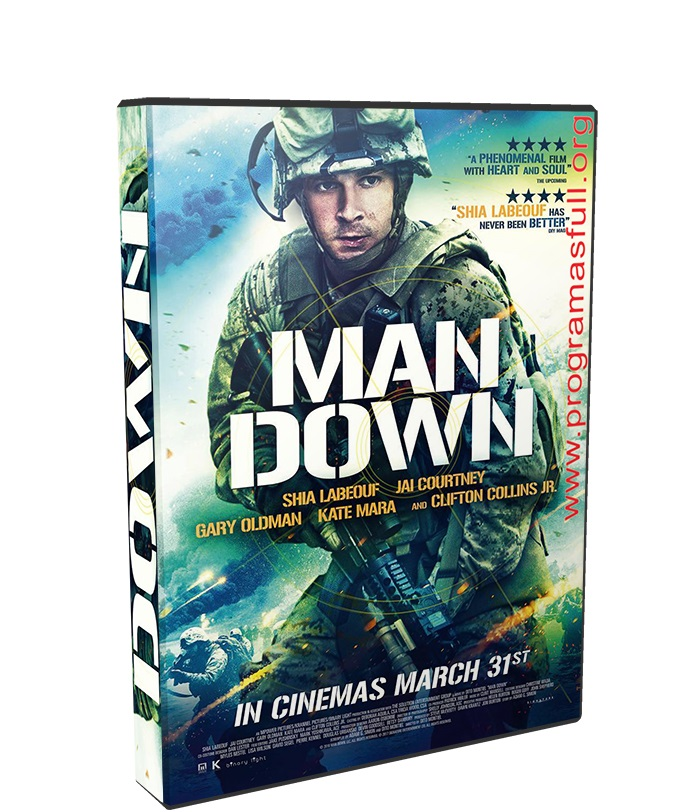 Man Down poster box cover