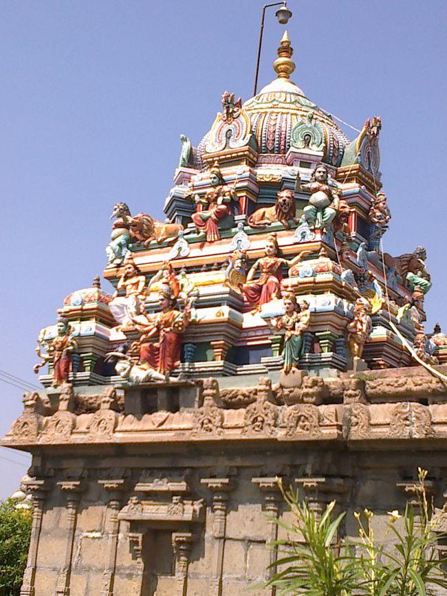Amman Vimanam At Sri Singeeswarar Temple