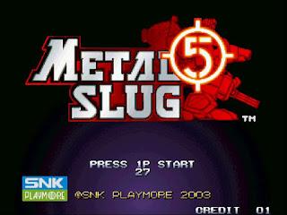 Metal Slug 5 Game for Windows