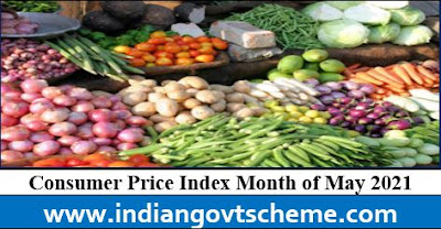 Consumer Price Index month of may 2021