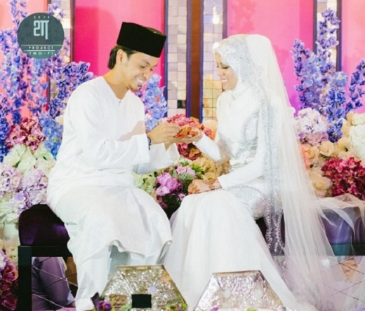 Pernikahan Jihan Muse Dengan Ungku Hariz