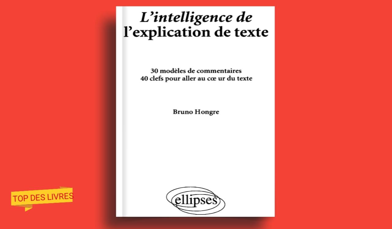Télécharger : L'intelligence de l'explication de texte en pdf
