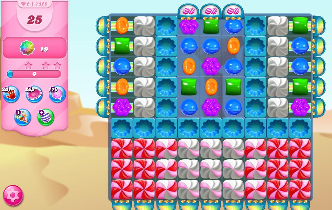 Candy Crush Saga level 7325