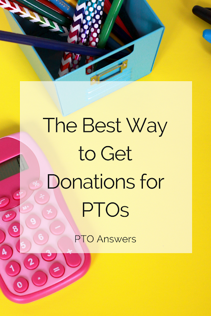 The Best Way to Get Donations for PTOs and fantastic fundraising tips for all school parent groups