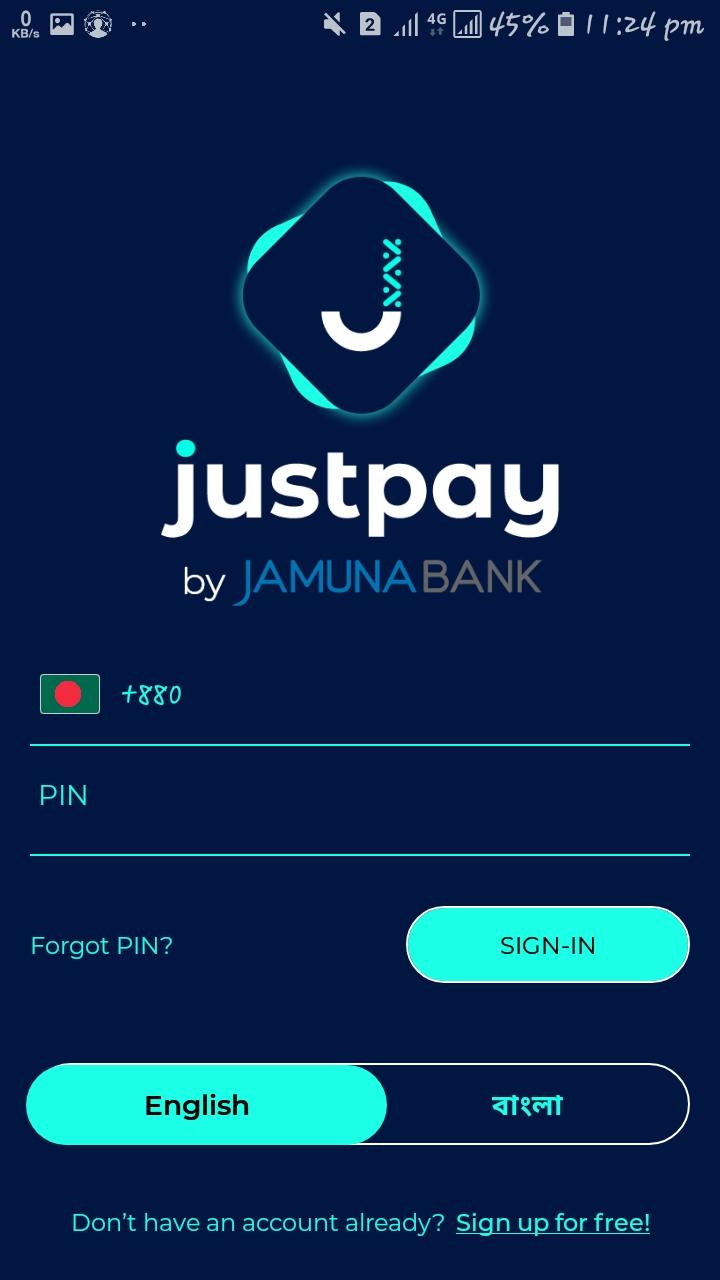 Justpay একাউন্ট   খুলুন বিস্তারিত দেখুন  - যমুনা ব্যাংক[ Justpay- Jamuna Bank]