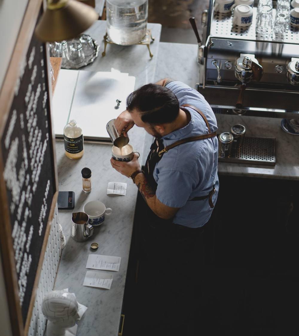 barista-from-above