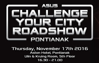 Serunya ASUS Challenge Your City Roadshow di Pontianak