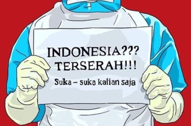 Pemerintah Tanggapi Viralnya Slogan 'Indonesia Terserah'
