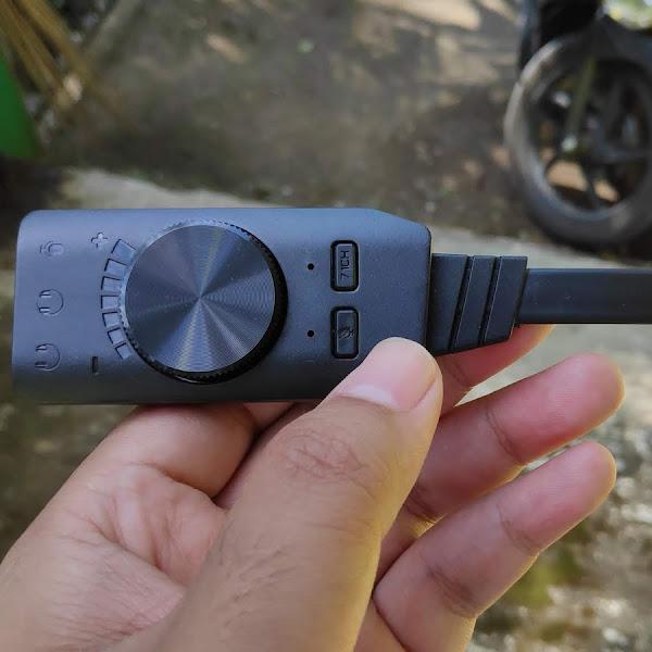 Review Plextone GS3 USB Sound Card 7.1 Channel